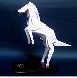 Origami by Mr Leong Cheng Chit