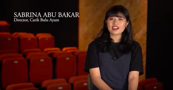 Sabrina Abu Bakar on Carik Bulu Ayam